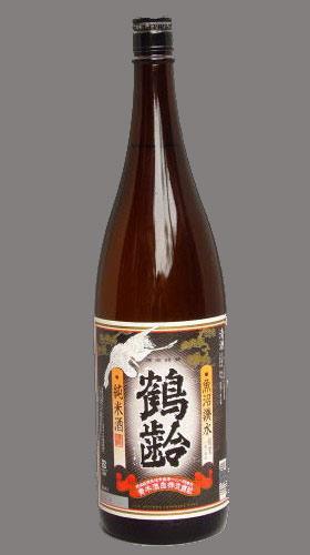 鶴齢 純米酒の画像