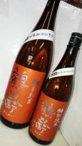 鶴齢 特別純米酒 雄町55% 1,800mlの表ラベル